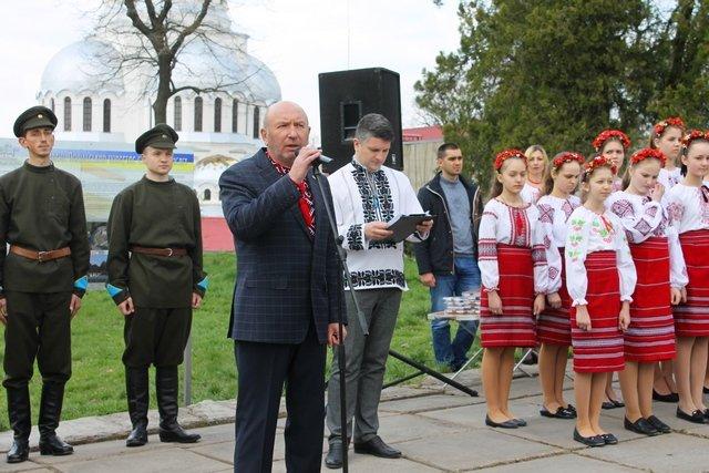 У Кам'янці заклали перший камінь Меморіалу Присязі на вірність Україні, фото-2