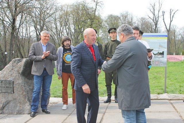 У Кам'янці заклали перший камінь Меморіалу Присязі на вірність Україні, фото-3