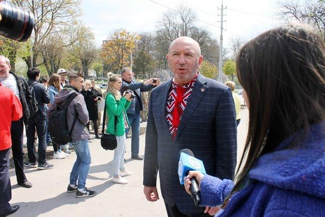 У Кам'янці заклали перший камінь Меморіалу Присязі на вірність Україні, фото-4