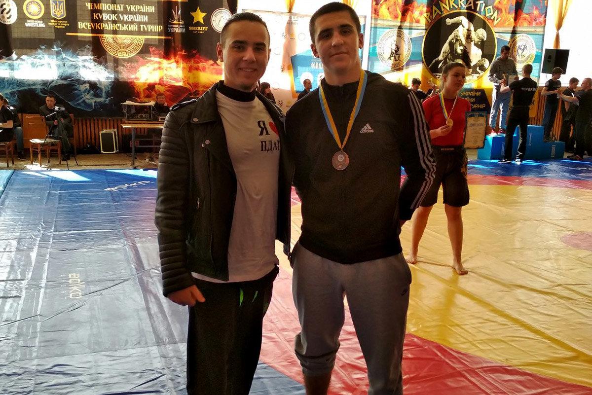 Студент із Кам'янця став призером  чемпіонат України з Панкратіону, фото-1