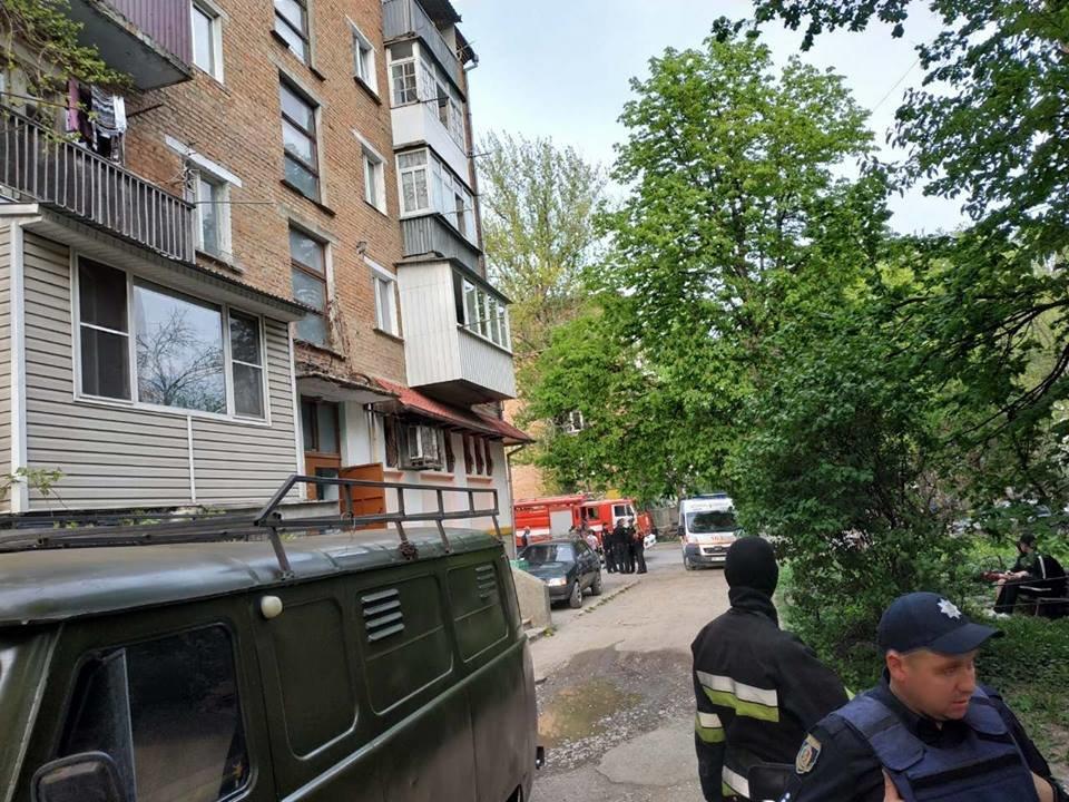На вулиці Пушкінській у квартирі стався вибух, фото-1