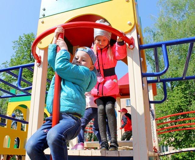 У Кам'янці відкрили спортивний та дитячий майданчики, фото-16