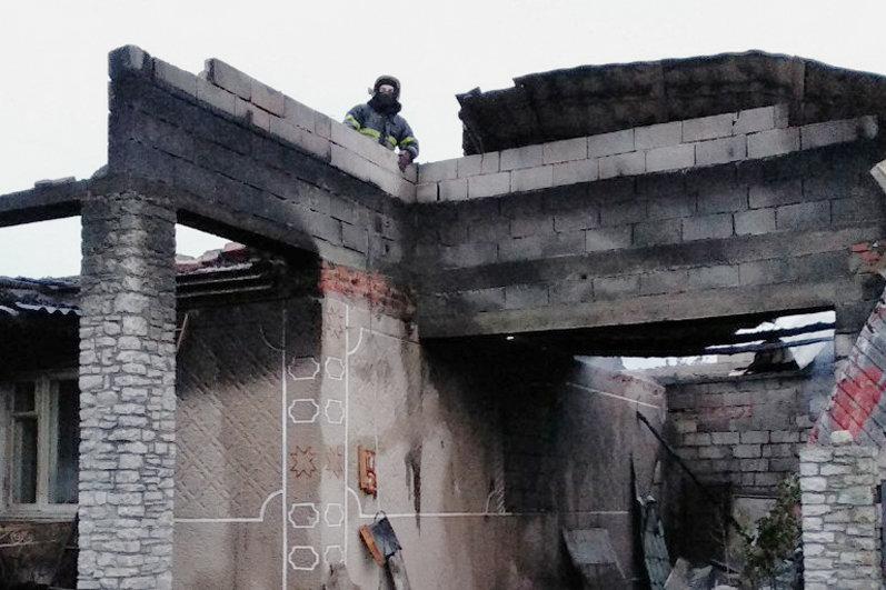 В селі Голосків горів житловий будинок, фото-2