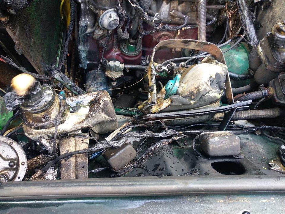 На мікрорайоні Жовтневому підпалили авто, фото-4