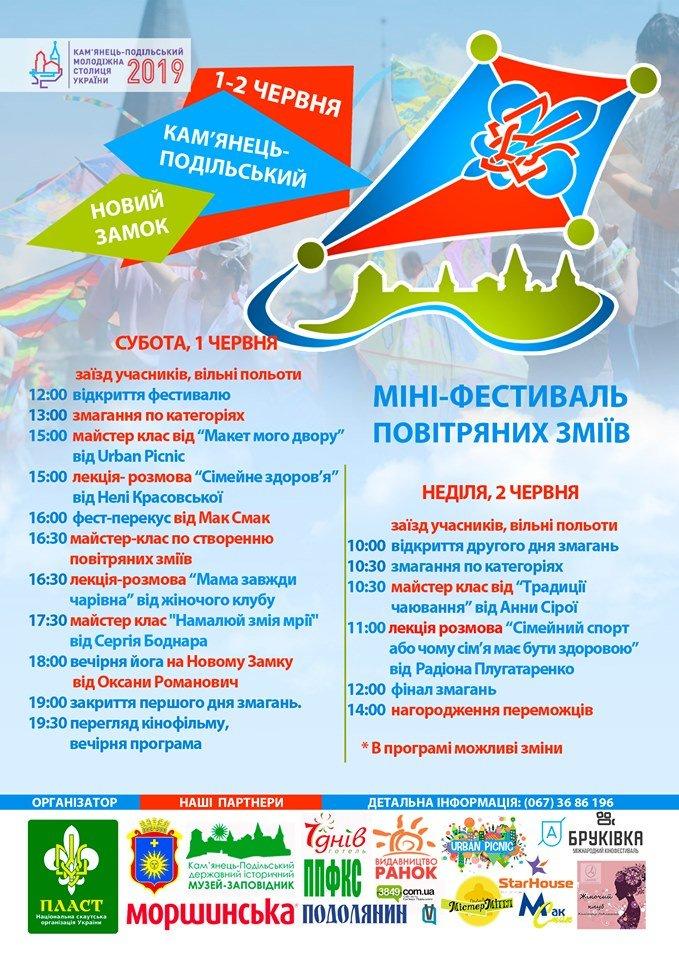 """Міні-фестиваль """"Повітряних зміїв"""" запрошує до участі, фото-1"""