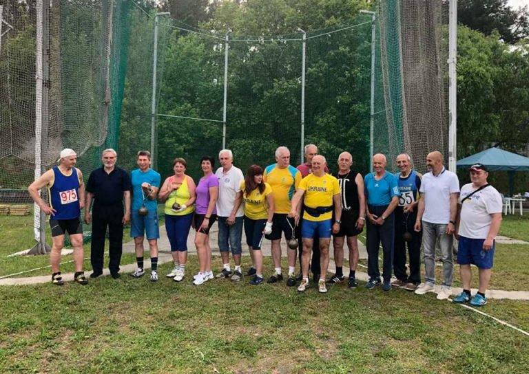 60-річний спортсмен із Кам'янеччини став чемпіоном легкоатлетичних метань серед ветеранів, фото-1