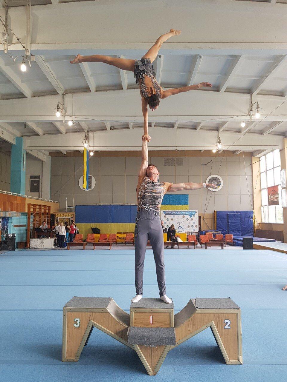 Чемпіонат України зі спортивної акробатики, фото-1, Фото: К-ПНУ ім. І. Огієнка