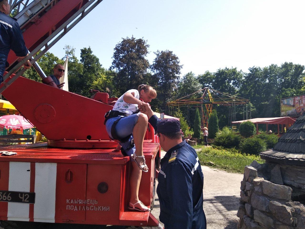 У Кам'янці-Подільському рятувальники евакуювали людей із оглядового колеса, фото-1, Фото: ГУ ДСНС України у Хмельницькій області