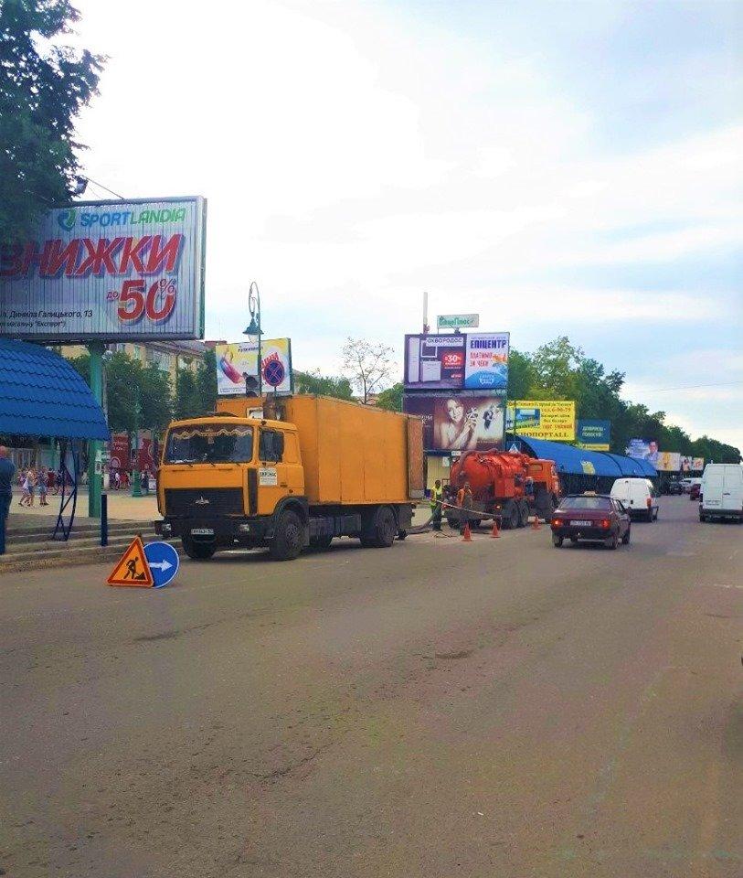 Очищення стічних систем міста, фото-1, Фото: Михайло Сімашкевич
