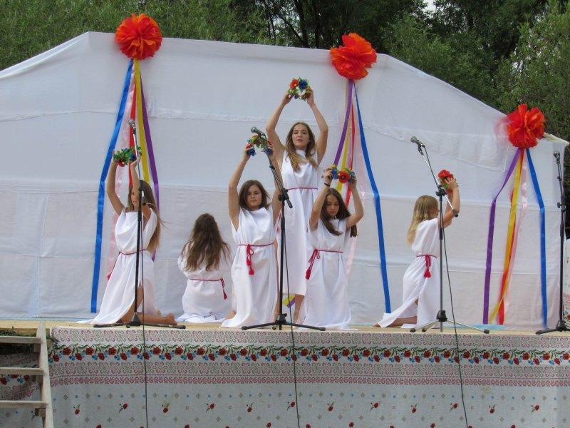 Вперше у селі Голосків відбулось грандіозне святкування Івана Купала, фото-1, Фото: Гуменецька ОТГ