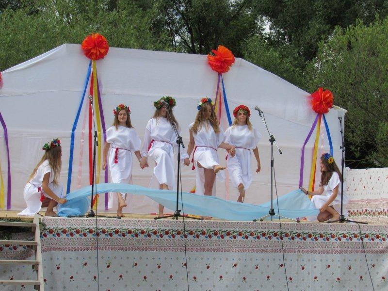 Вперше у селі Голосків відбулось грандіозне святкування Івана Купала, фото-2, Фото: Гуменецька ОТГ