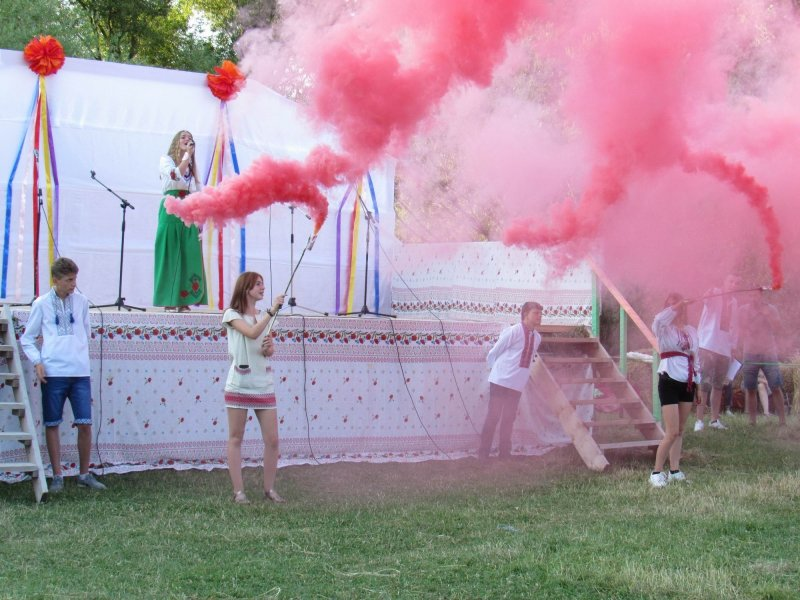 Вперше у селі Голосків відбулось грандіозне святкування Івана Купала, фото-18, Фото: Гуменецька ОТГ