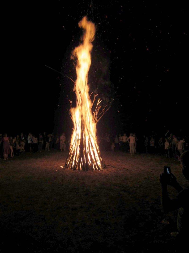 Вперше у селі Голосків відбулось грандіозне святкування Івана Купала, фото-25, Фото: Гуменецька ОТГ