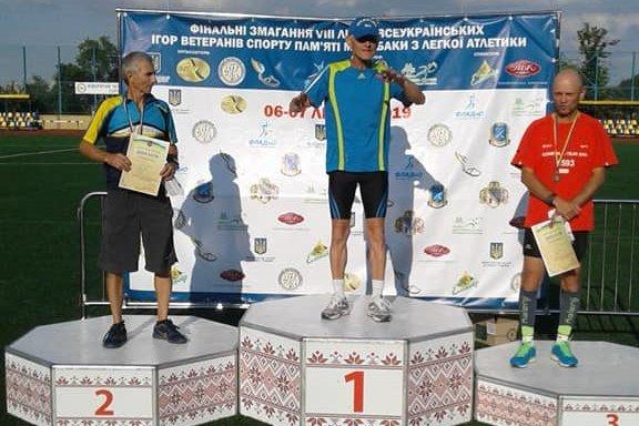 Ветерани спорту Кам'янеччини призери змагань з легкої атлетики, фото-1, Фото: Хмельницька ОДА