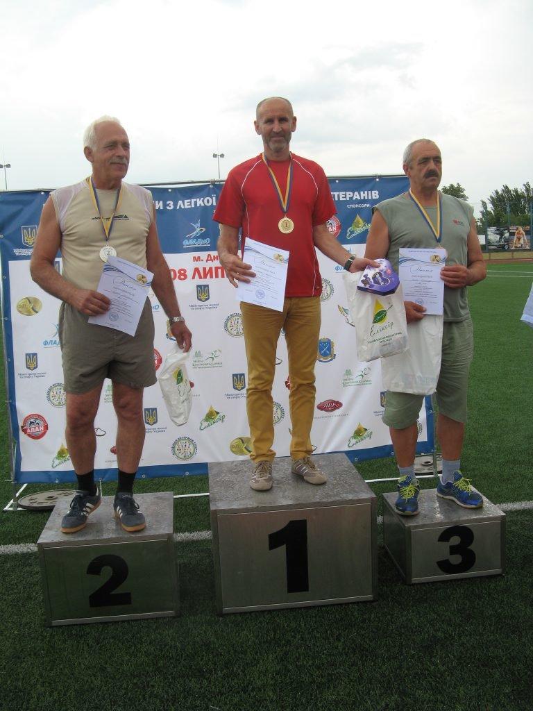 Ветерани спорту Кам'янеччини призери змагань з легкої атлетики, фото-4, Фото: Хмельницька ОДА