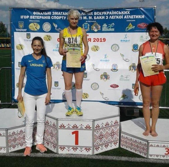 Ветерани спорту Кам'янеччини призери змагань з легкої атлетики, фото-3, Фото: Хмельницька ОДА