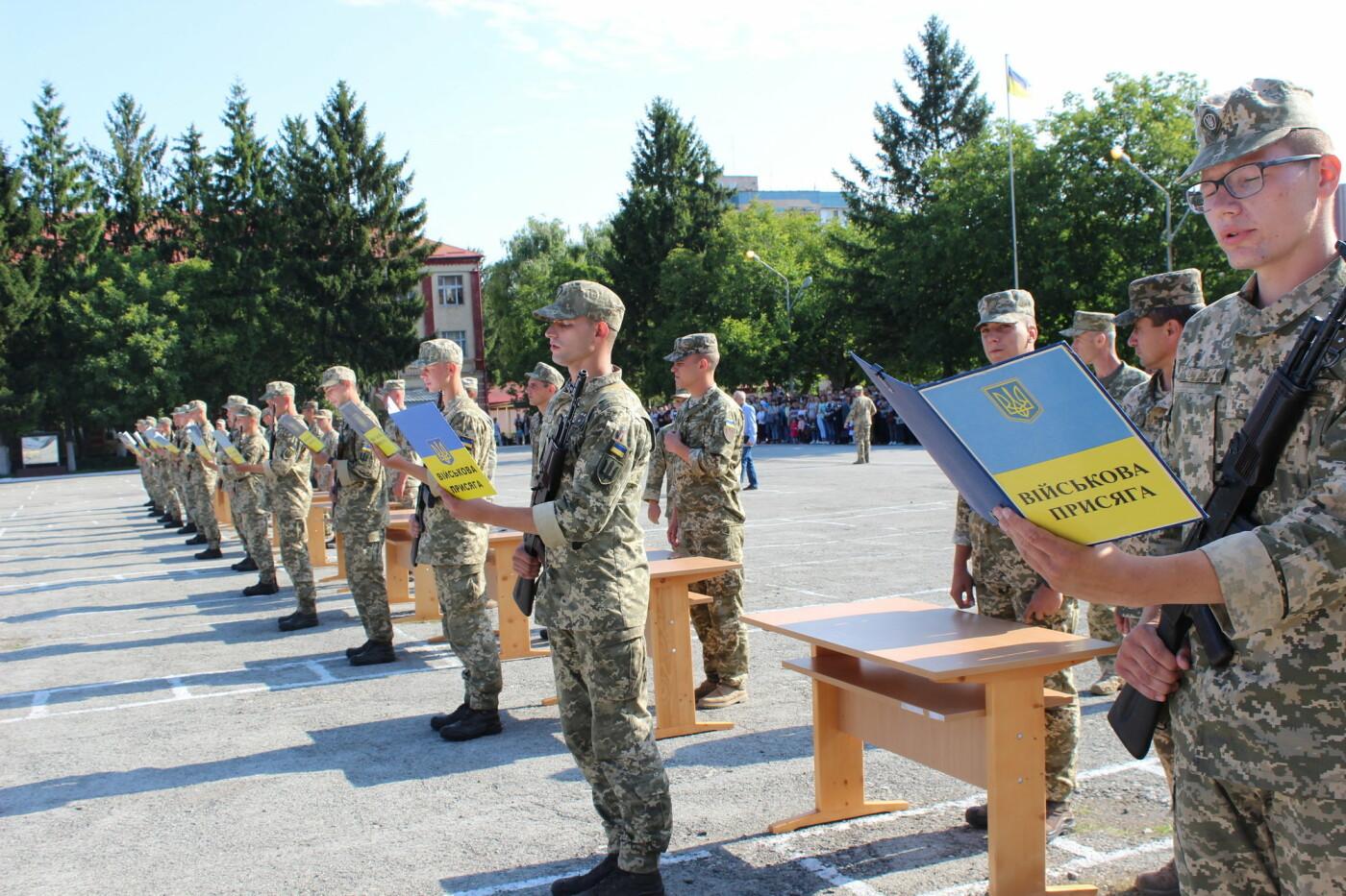 У Кам'янці 240 військовослужбовців склали присягу, фото-1, Фото: Olha Povorozniuk