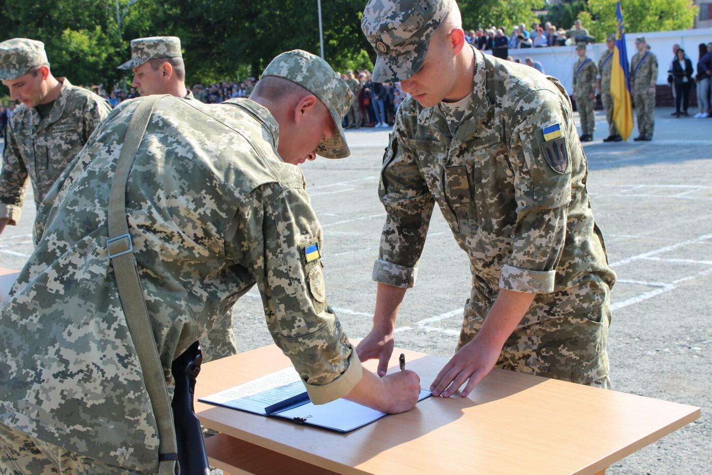 У Кам'янці 240 військовослужбовців склали присягу, фото-2, Фото: Olha Povorozniuk