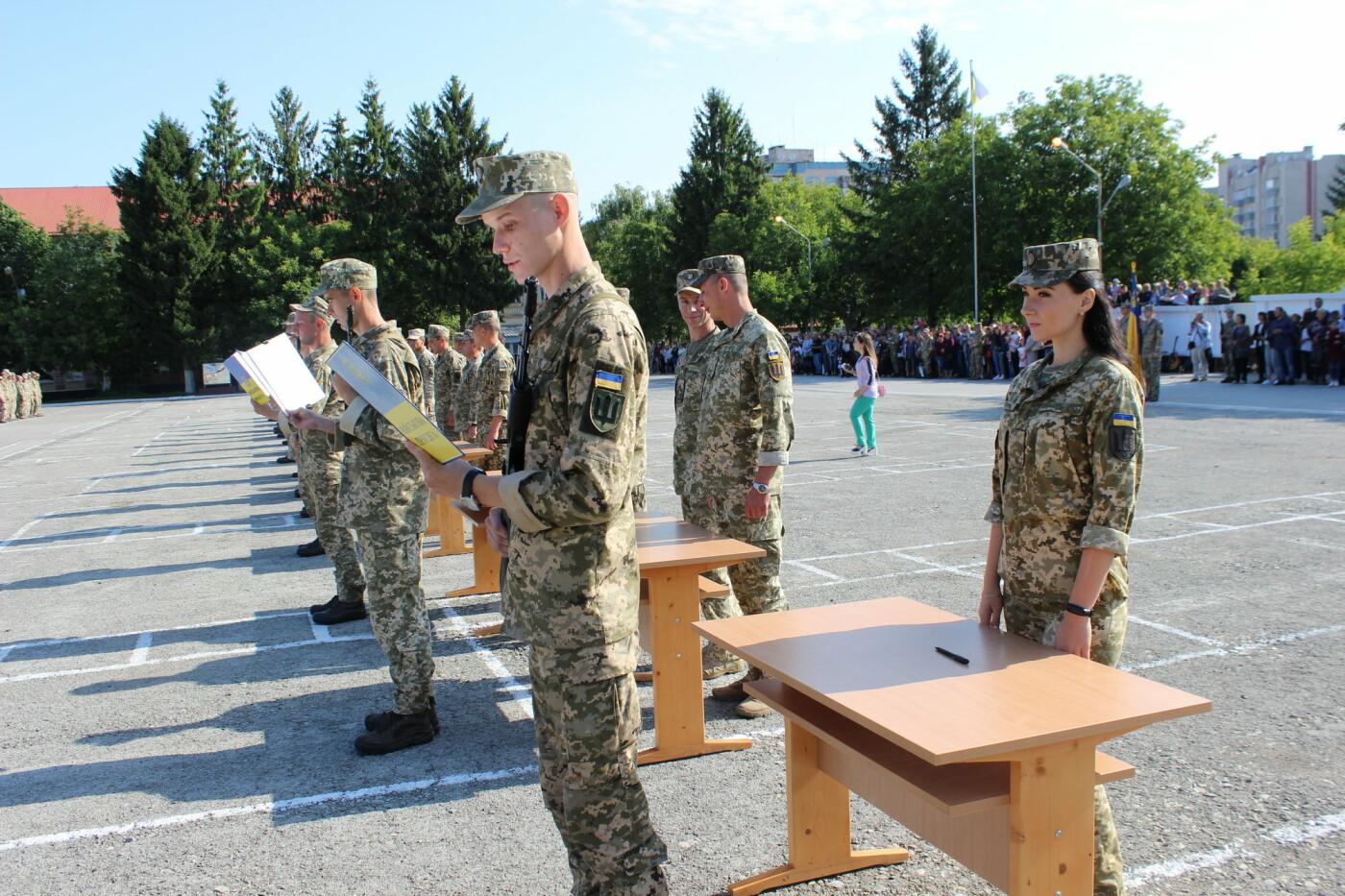 У Кам'янці 240 військовослужбовців склали присягу, фото-4, Фото: Olha Povorozniuk