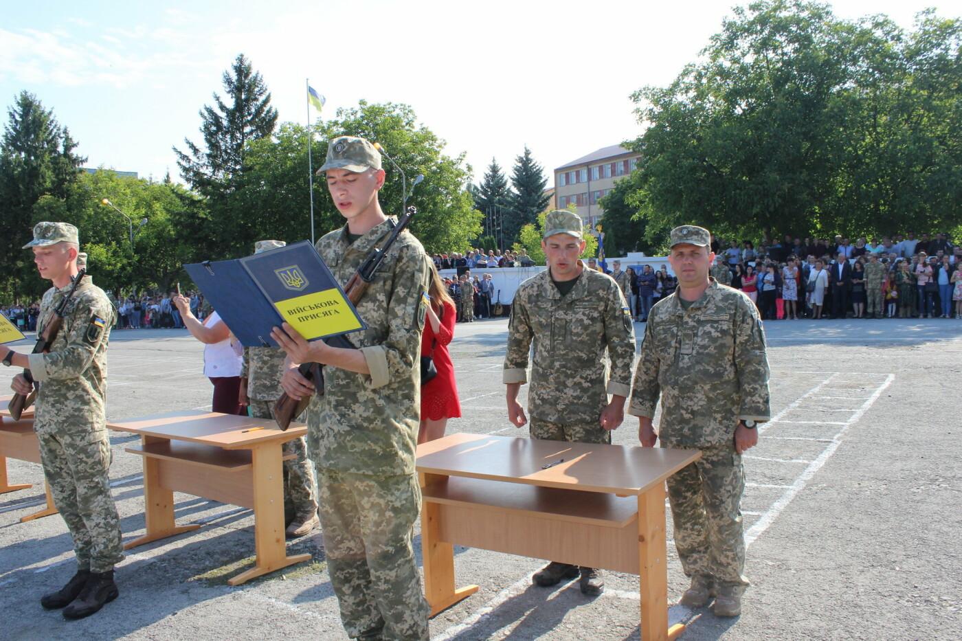 У Кам'янці 240 військовослужбовців склали присягу, фото-5, Фото: Olha Povorozniuk