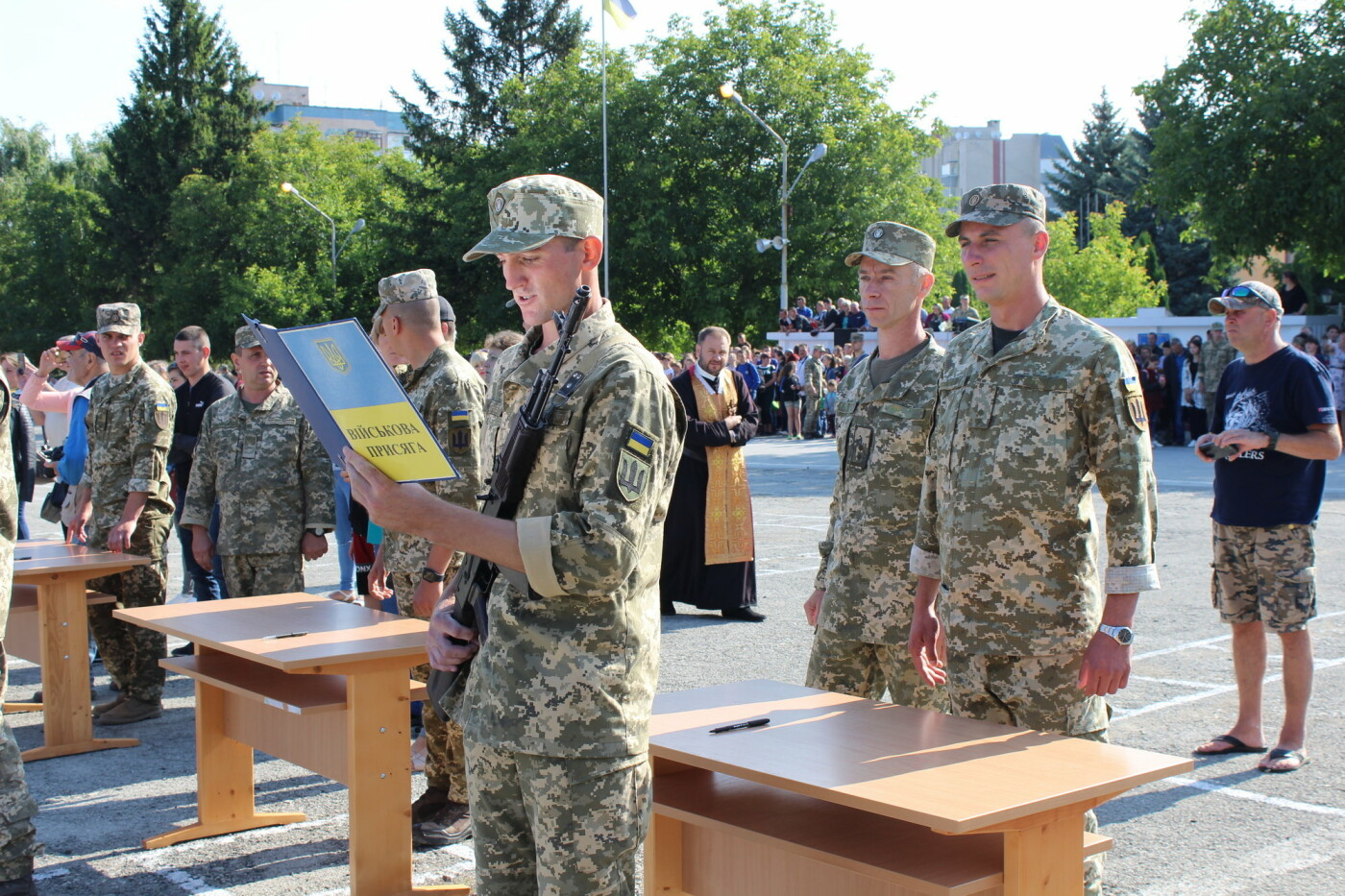 У Кам'янці 240 військовослужбовців склали присягу, фото-6, Фото: Olha Povorozniuk