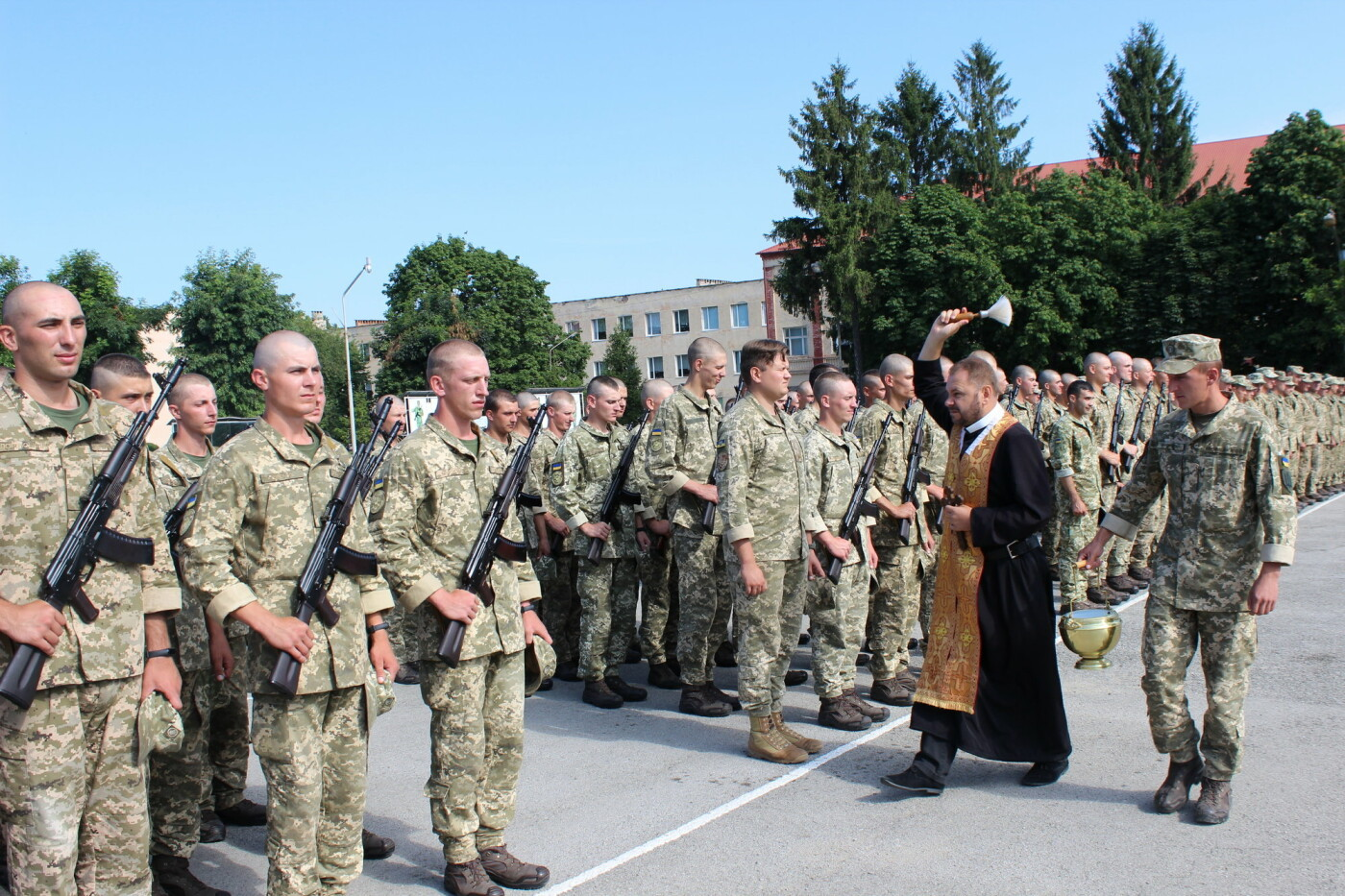 У Кам'янці 240 військовослужбовців склали присягу, фото-10, Фото: Olha Povorozniuk