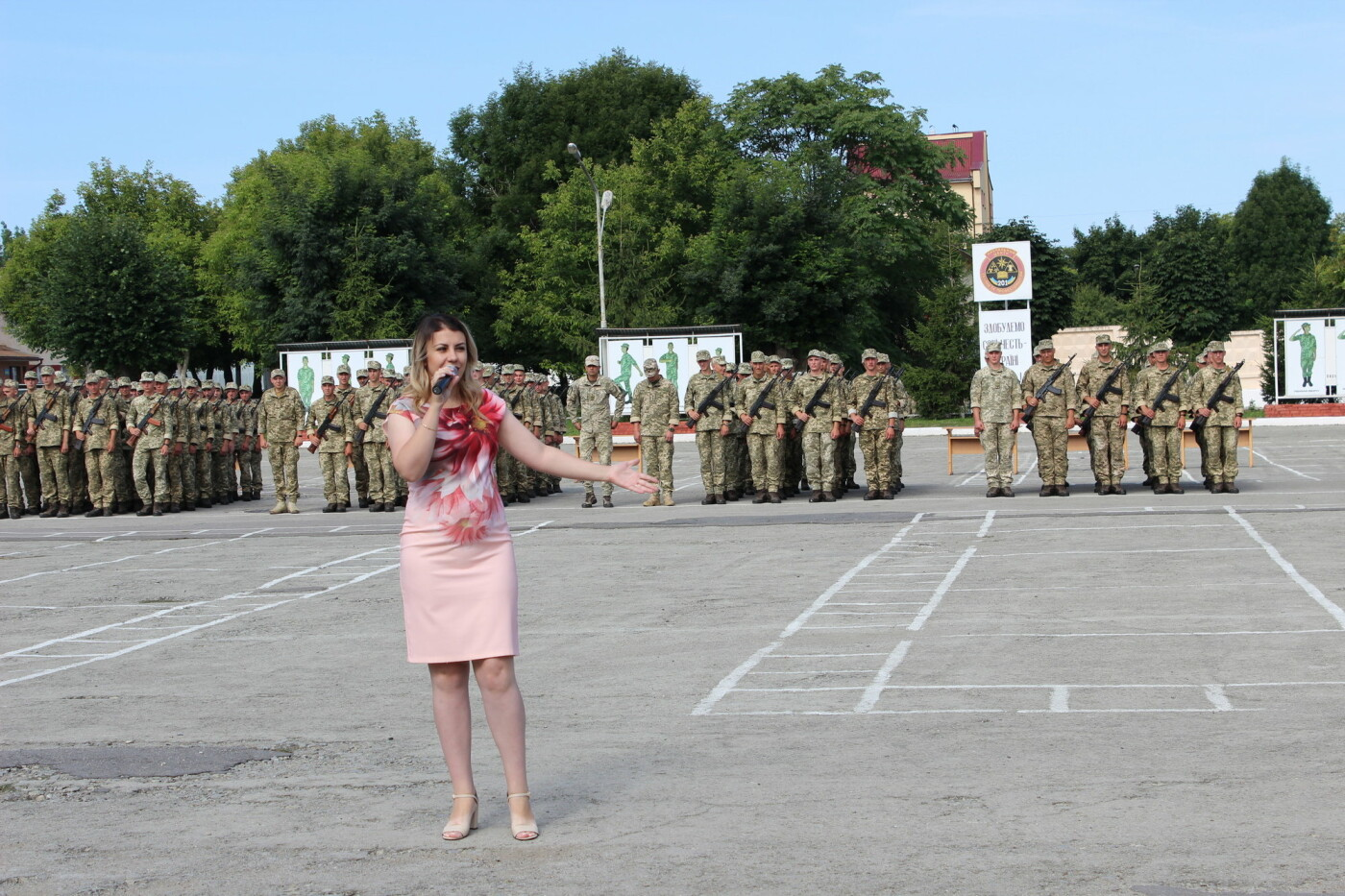 У Кам'янці 240 військовослужбовців склали присягу, фото-13, Фото: Olha Povorozniuk