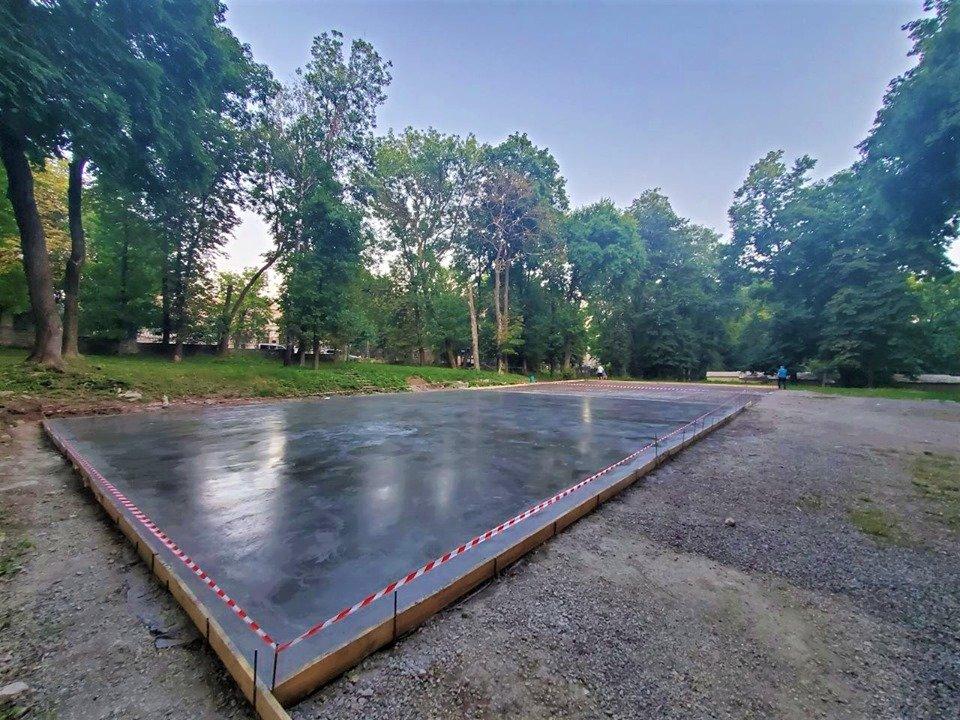 У Кам'янці-Подільському продовжується будівництво скейт-парку, фото-1