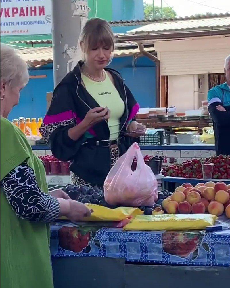 Леся Нікітюк завітала у Кам'янець-Подільський, фото-2, Фото: @_olia__trach