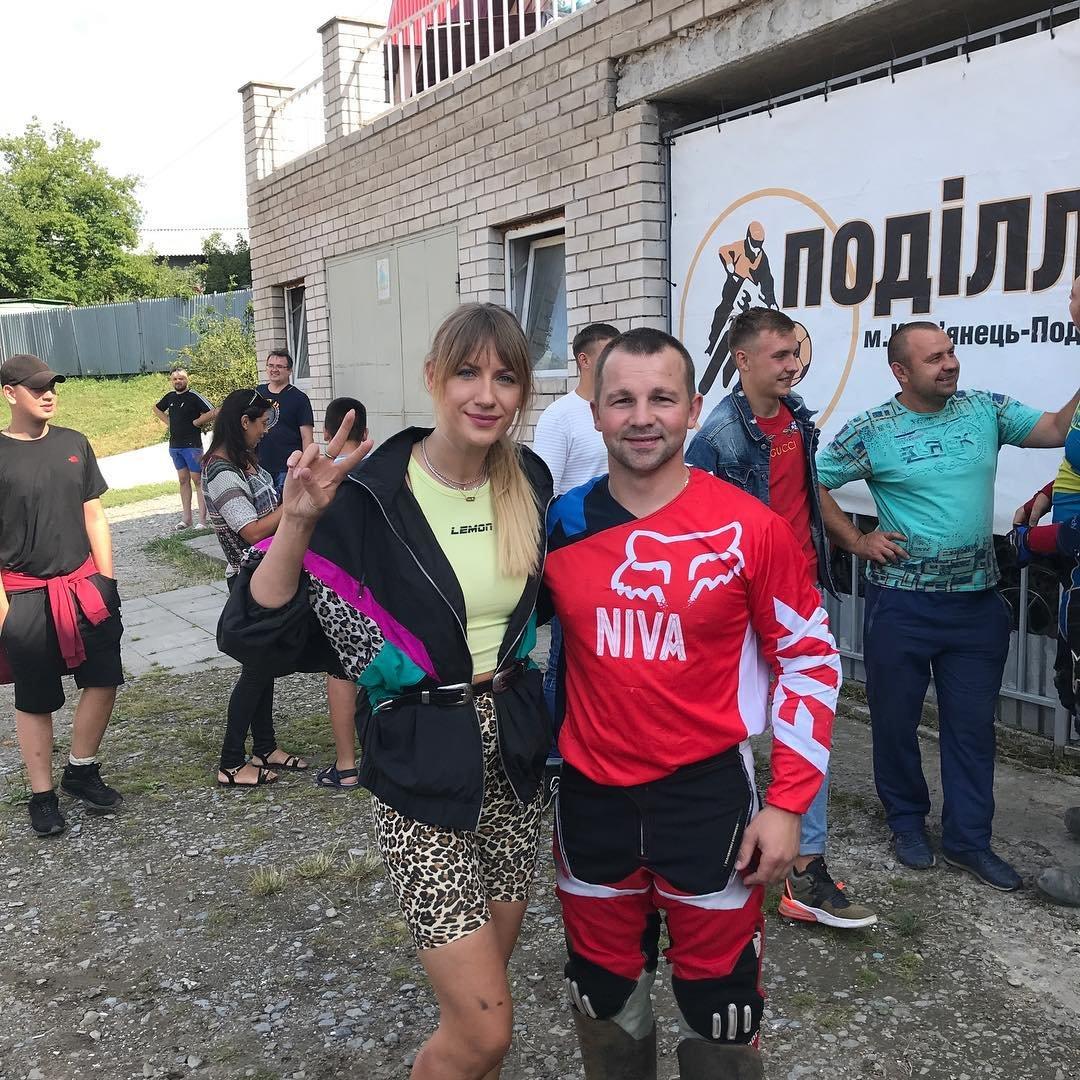 Леся Нікітюк завітала у Кам'янець-Подільський, фото-3, Фото: @vetal_46