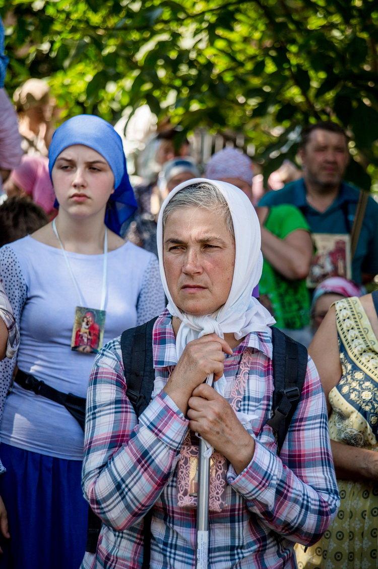 Хресний хід до Почаєва: понад 20 тисяч вірян вийшли з Кам'янця-Подільського, фото-8, Фото: СПЖ