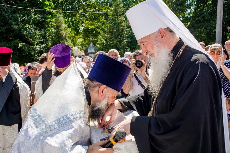 Хресний хід до Почаєва: понад 20 тисяч вірян вийшли з Кам'янця-Подільського, фото-14, Фото: СПЖ