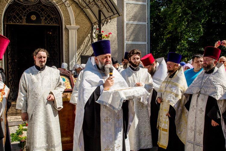 Хресний хід до Почаєва: понад 20 тисяч вірян вийшли з Кам'янця-Подільського, фото-11, Фото: СПЖ