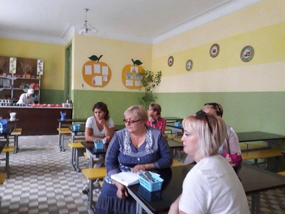 """Батьківські обговорення питання харчування, Фото: ГО """"Батьківська Рада Кам'янця-Подільського"""""""