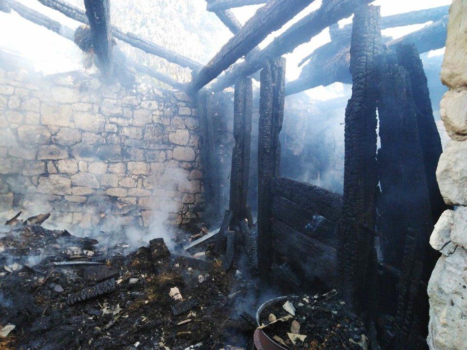 На Кам'янеччині рятувальники приборкали пожежу, фото-1