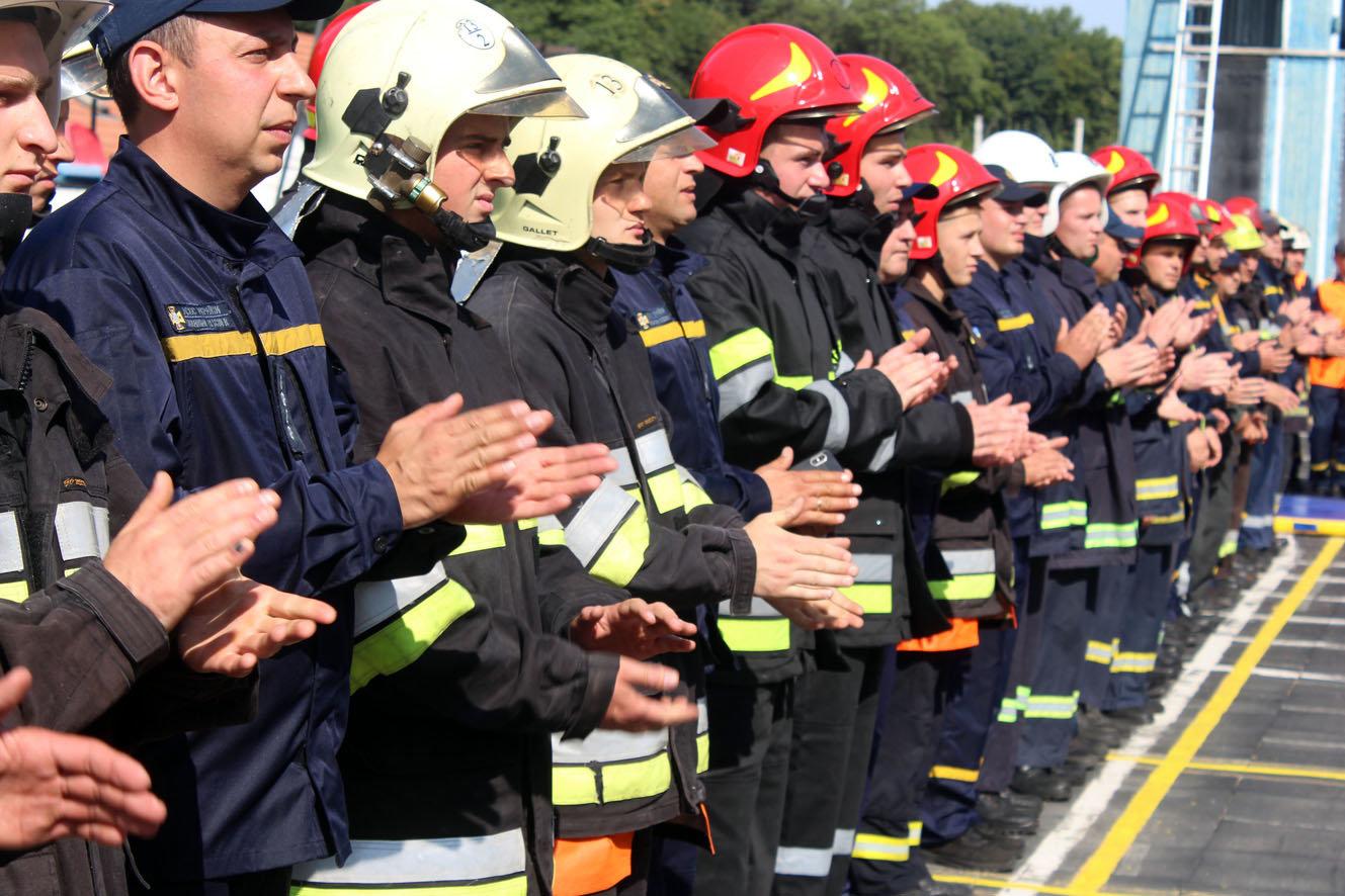 """Кам'янецькі рятувальники вибороли звання """"Найсильніший пожежний-рятувальник"""", фото-12"""