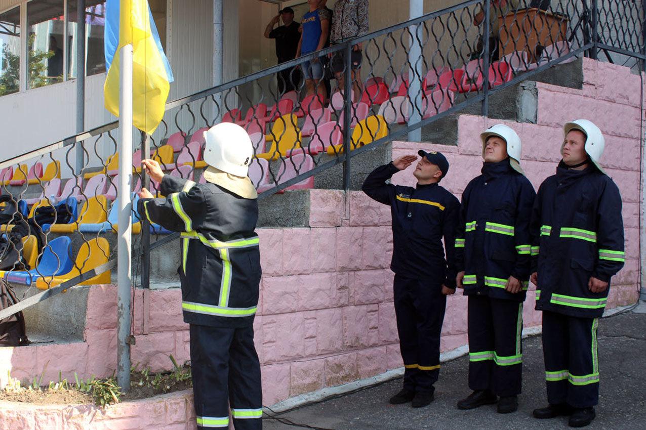 """Кам'янецькі рятувальники вибороли звання """"Найсильніший пожежний-рятувальник"""", фото-13"""