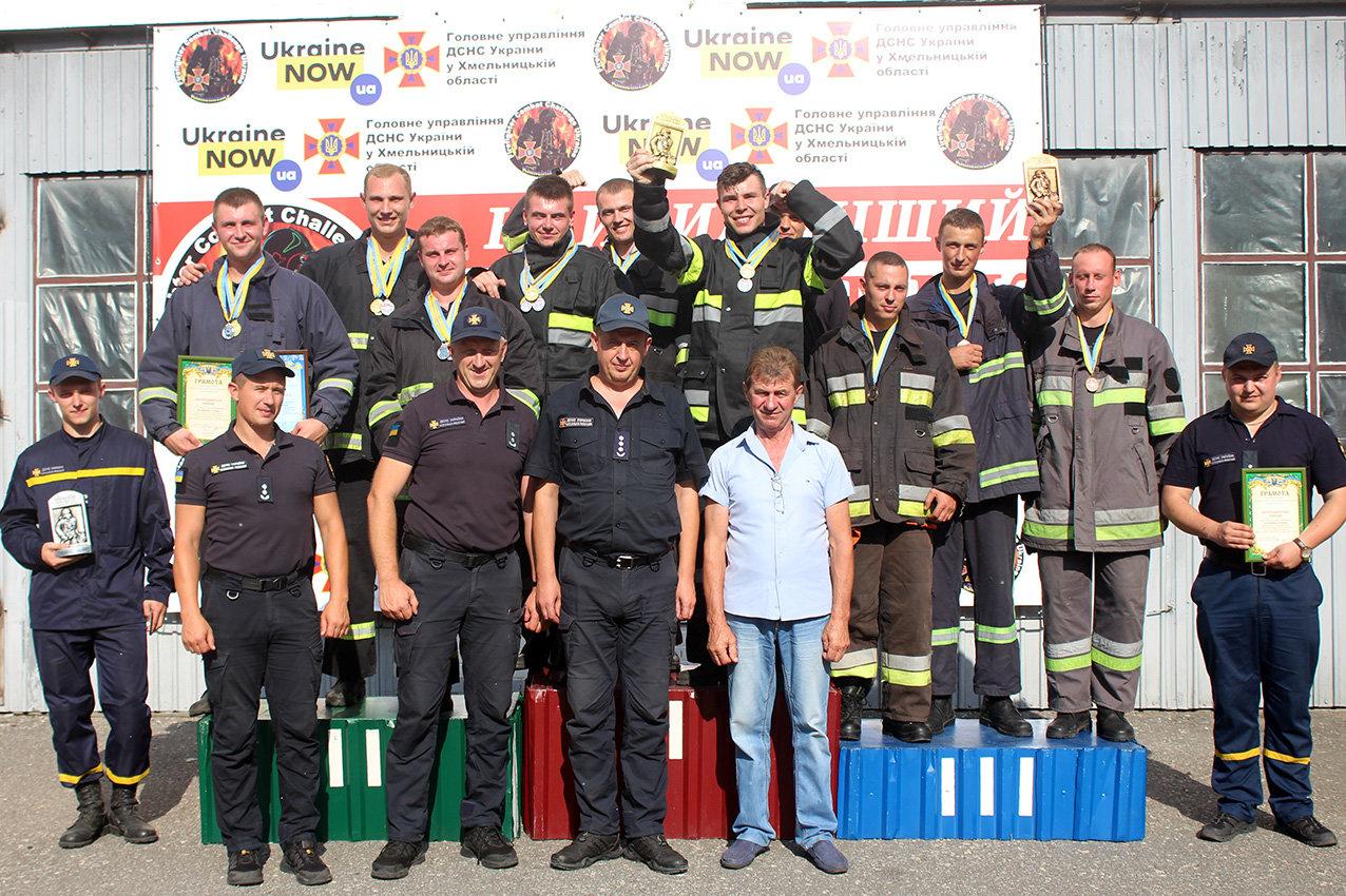 """Кам'янецькі рятувальники вибороли звання """"Найсильніший пожежний-рятувальник"""", фото-21"""