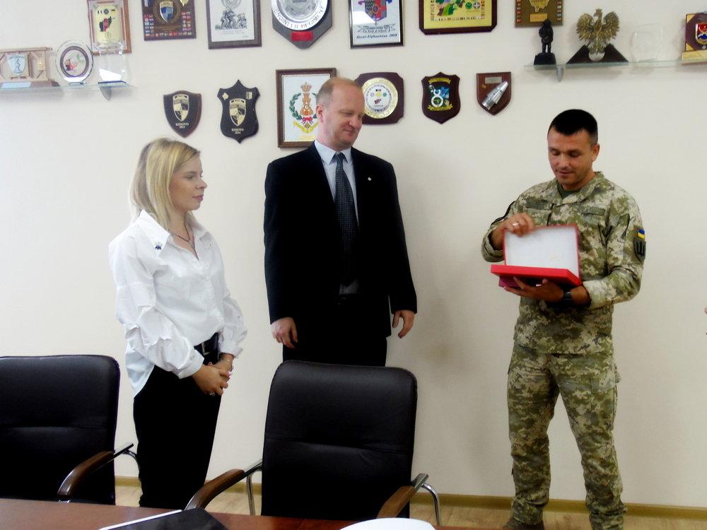 Військові Центру розмінування провели зустріч із представниками Червоного Хреста, фото-5, Фото: Центр розмінування