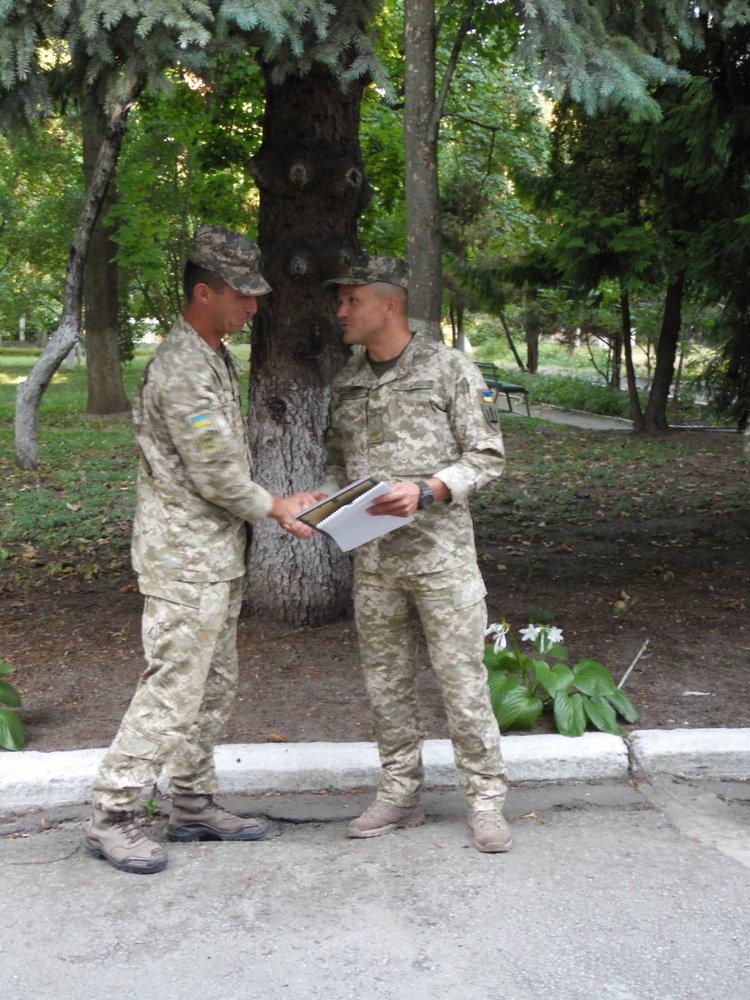 Військових Центру розмінування звільнили в запас, фото-1, Фото: Центр розмінування