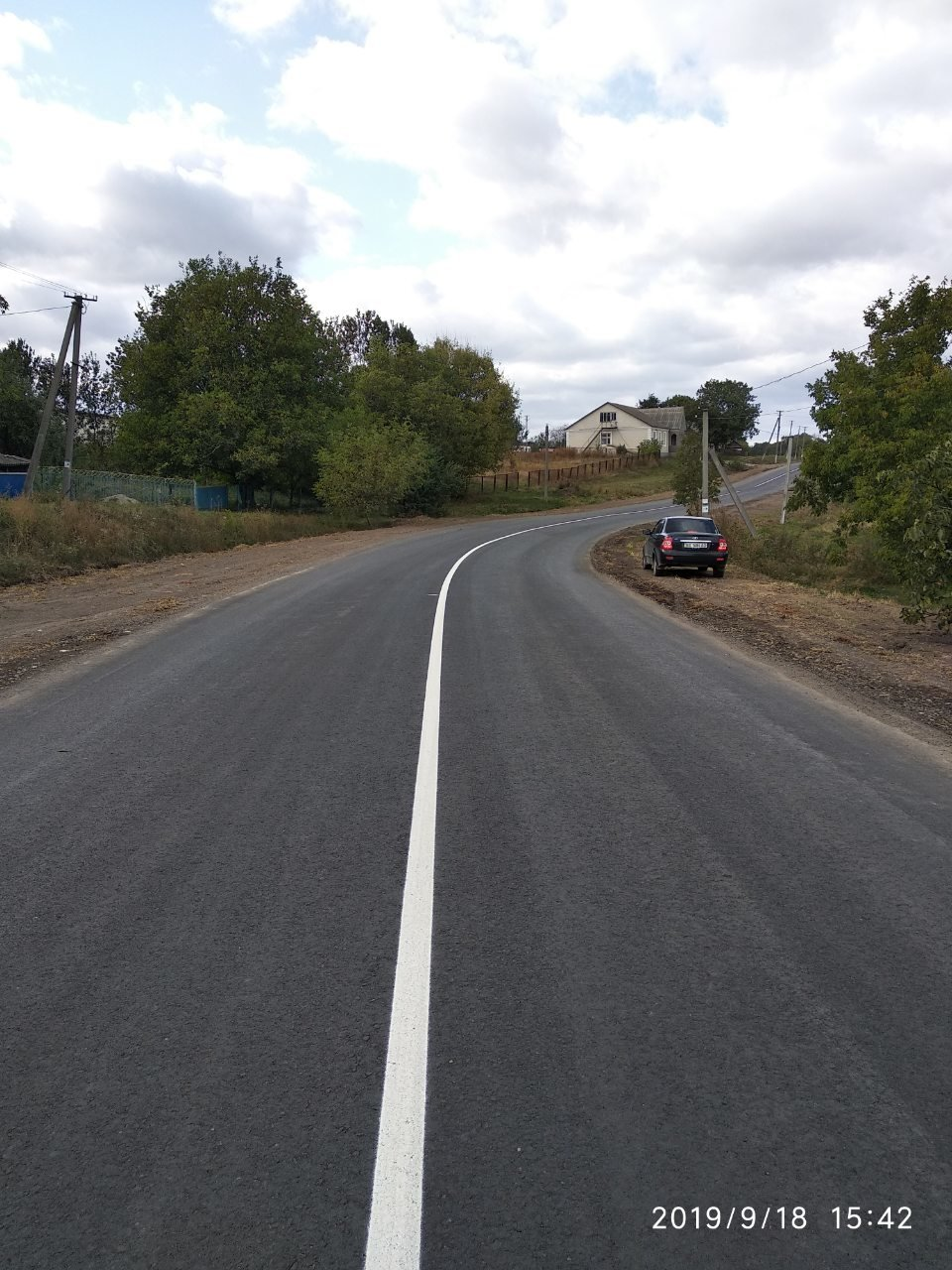 У селі Оринин влаштовано нове асфальтне покриття, фото-2, Фото: Прес-служба САД у Хмельницькій області