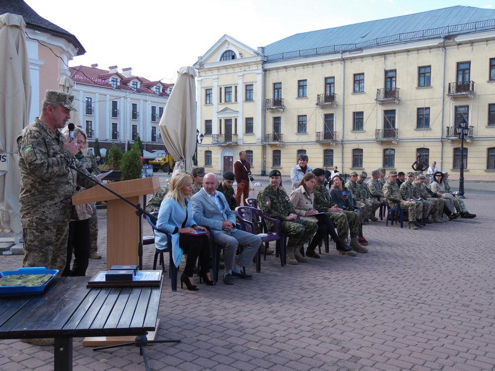 У Кам'янці-Подільському відбувся Парад медалей на честь військових інструкторів-саперів з Канади, фото-7, Фото: Центр розмінування