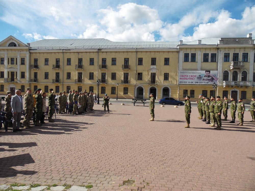 У Кам'янці-Подільському відбувся Парад медалей на честь військових інструкторів-саперів з Канади, фото-12, Фото: Центр розмінування