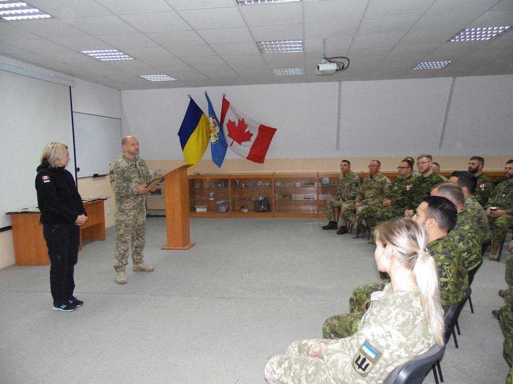Канадські сапери закінчили місію у Кам'янці-Подільському, фото-1, Фото: Центр розмінування