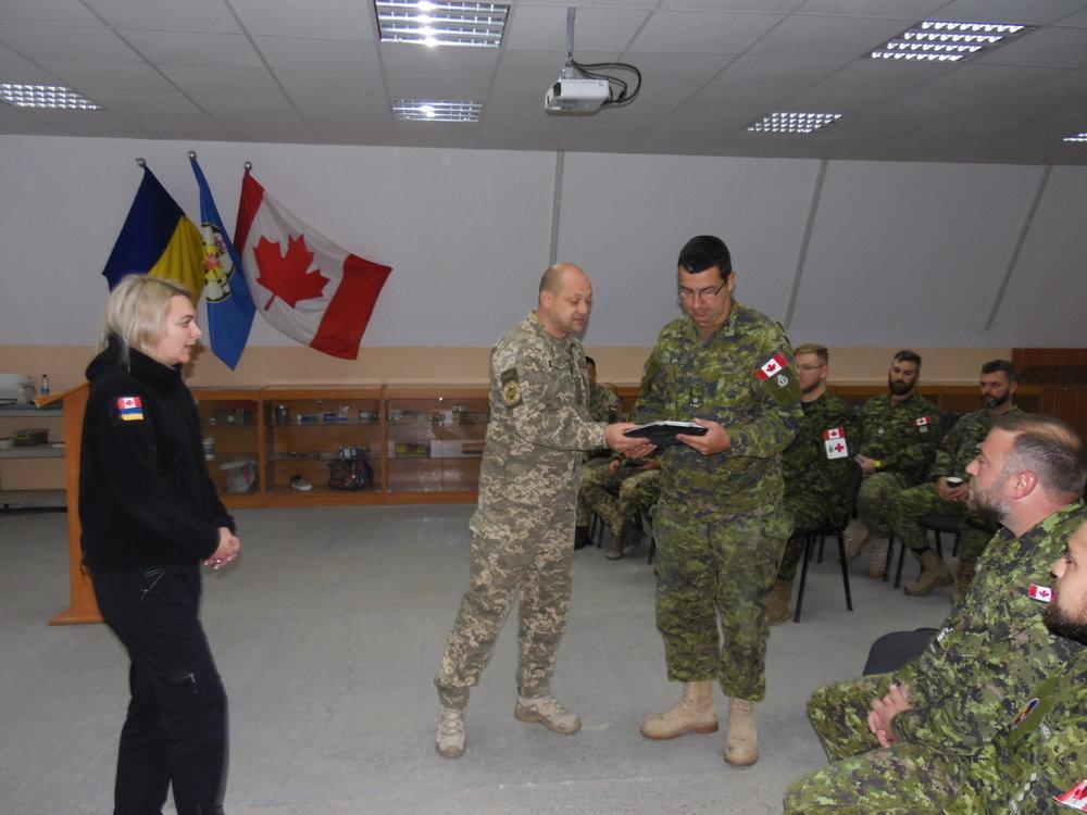 Канадські сапери закінчили місію у Кам'янці-Подільському, фото-2, Фото: Центр розмінування