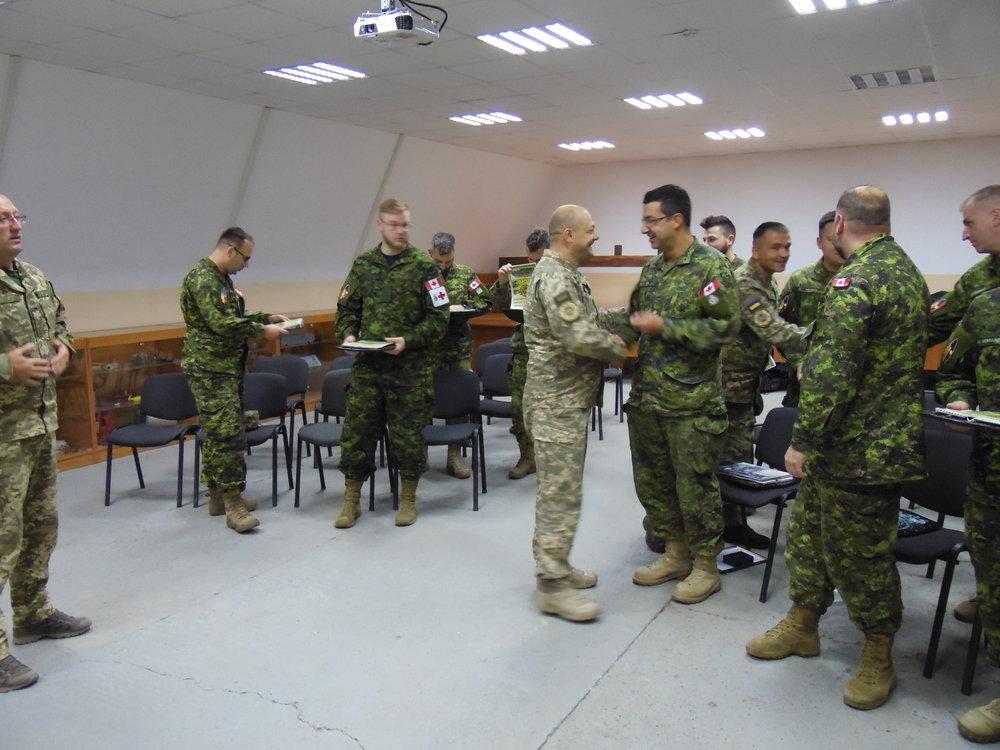 Канадські сапери закінчили місію у Кам'янці-Подільському, фото-3, Фото: Центр розмінування