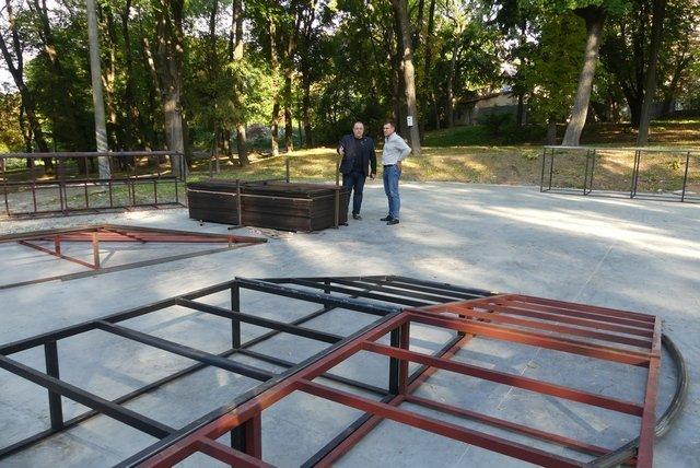 У Кам'янці завершують облаштування скейт-майданчика, фото-2, Фото: Міська рада