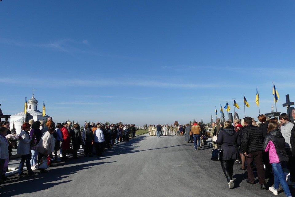 Військові Центру розмінування дякують за облаштування Алеї слави, фото-3