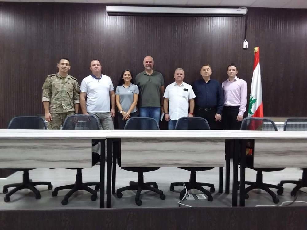 Військові Центру розмінування відвідали Ліванський центр з протимінної діяльності, фото-1, Фото: Центр розмінування