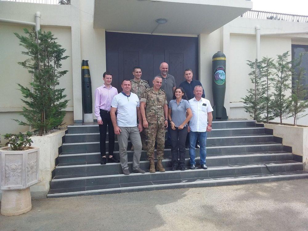 Військові Центру розмінування відвідали Ліванський центр з протимінної діяльності, фото-2, Фото: Центр розмінування